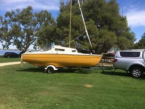 Red Barron Catamaran trailer sailer Kalamunda Kalamunda Area Preview