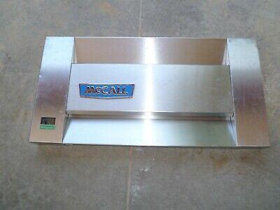 Mccall Restaurant Single Door Cooler Refrigerator Top Front Cover