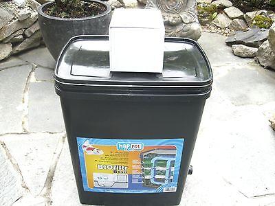 Gartenteichfilter Teichfilter für Teiche bis 2500 Liter incl. Pumpe