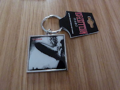 LED ZEPPELIN - LED ZEPPELIN S/T METAL KEYRING (NEW) OFFICIAL BAND MERCH