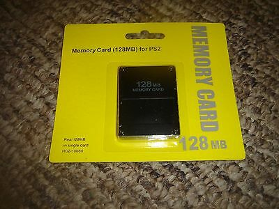 128MB Memory Card - Sony PlayStation PS2 (Brand New)