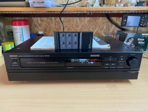 DENON DRS-810 Stereo Cassette Tape Deck (1992-1995)