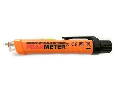 Peakmeter Non-contact Voltage Tester Ncvt Detector 12-1000v Pm8908c Peak-meter