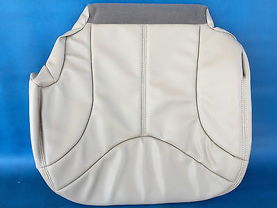 - 2000-2002 YUKON/ SIERRA LEATHER DRIVER SEAT COVER-SHALE
