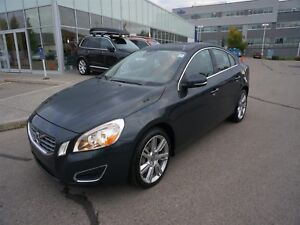2013 Volvo S60 T5 AWD w/ Low KM's & Certified PreOwned Warranty!
