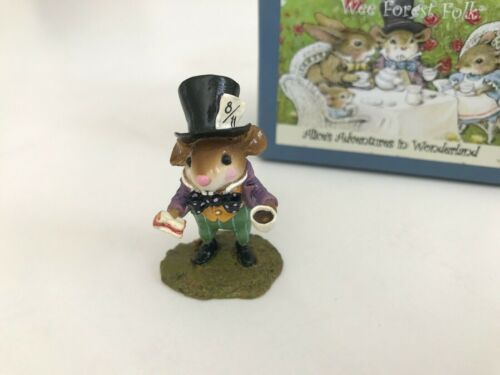 Wee Forest Folk  Alice in Wonderland, THE MAD HATTER 🎩☕️ -  Ltd.Edition - NEW