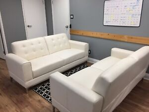 Leather-Like Couches. (Not genuine leather)