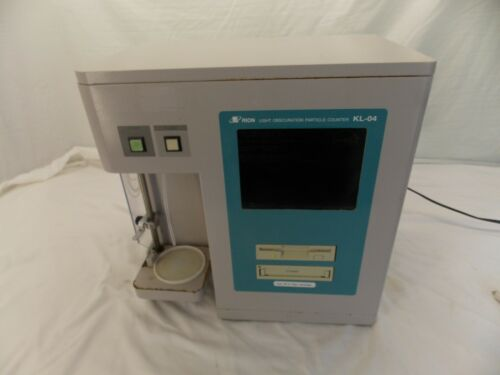 Rion KL-04 Light Obscuration Particle Counter