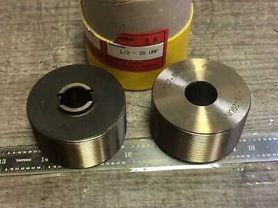 New Set Of Fette Thread Rolling Dies 12 - 20