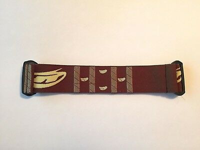 (JT PROFLEX PAINTBALL SPECTRA Brown Paisley GOGGLE MASK STRAP RARE NOS NEW)