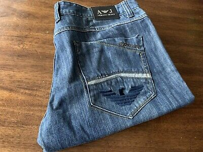 Mens Armani Jeans Sz 40 X 29 Straight Excellent Cond