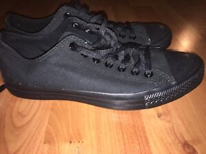 BRAND NEW All Black Converse Shoes