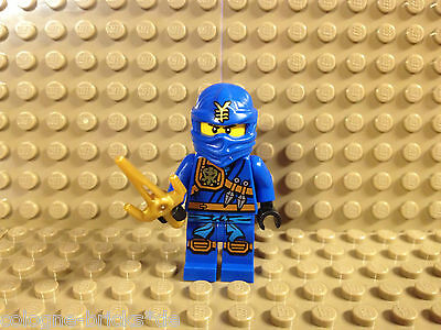 Neuheit Waffen (Lego® 1 x Ninjago Figur Jay inkl Waffe NEU 70749 aus 2015 Neuheit)