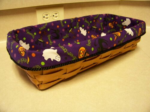 Halloween Bread Basket Liner from Longaberger Halloween Party  Fabric