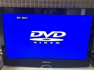 Norwegia TV & DVD player + wall mount Fulham Gardens Charles Sturt Area Preview