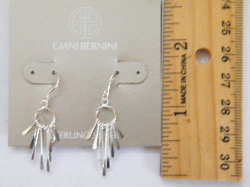 Sterling Silver Drop Earrings by Giani Bernini