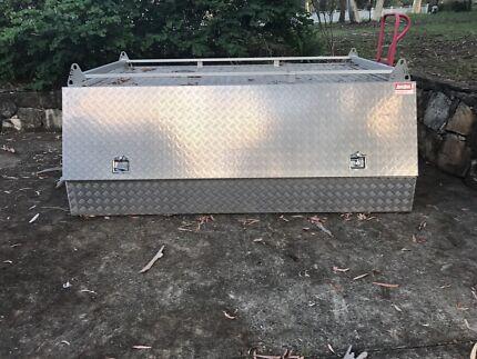 Aluminium ute toolbox canopy by Ausbox