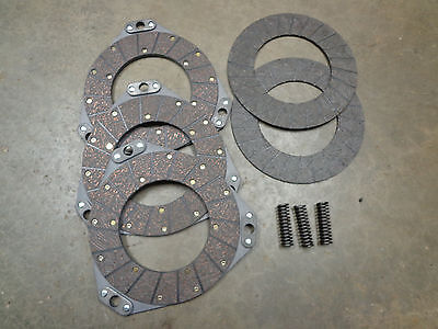 Clutch Double Sided Disc Floating Disc Spring Set For John Deere 80 820 830