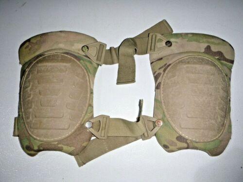 US Military McGuire Nicholas OCP Multicam Knee Pads Set USED CONDITION