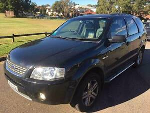 GHIA - 6 Speed - 2006 Ford Territory AWD Wagon Lidcombe Auburn Area Preview