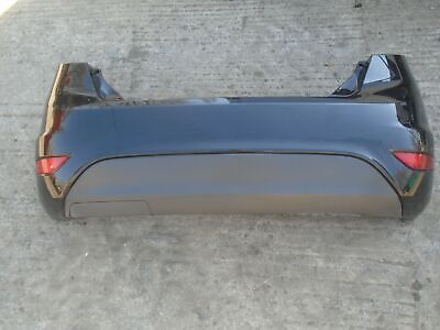 Ford Fiesta MK7 10-17 Rear bumper and Reflectors BLACK