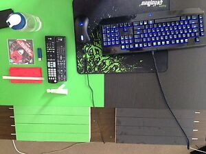 Black and green side table Melbourne CBD Melbourne City Preview