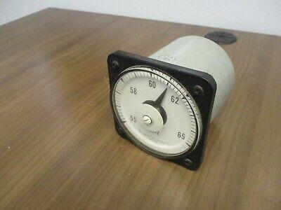 Ge Frequency Meter 50-103372anan2 Range 55-65hz Used