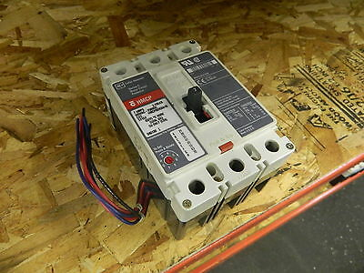 Westinghouse 7A Breaker, HMCP, Cat# HMCP007C0A10, 3 Pole, 600V, USED