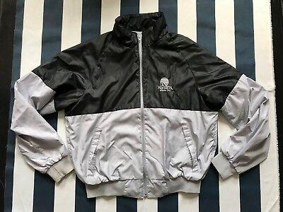 🔥Men Harrahs Casino Resort Atlantic City Windbreaker Zip Jacket Large Swingster Atlantic Zip Jacket