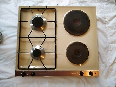 GAGGENAU Cooktop KM 132-758 Dual Fuel gas and electric Made Germany stove top for sale  Shipping to Ireland