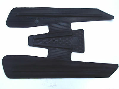 Vespa V50 S L R N 50 PV ET3 125 Special Gummimatte Fussmatte Trittbrett NEU