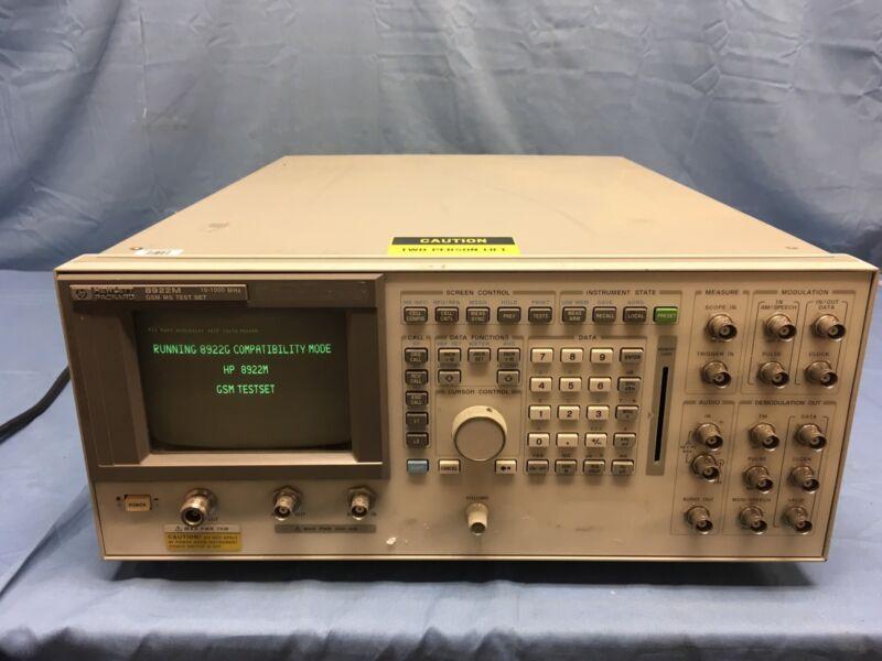 Hp Agilent 8922M GSM Radio Test Set  TESTED