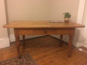Beautiful antique harvest table!