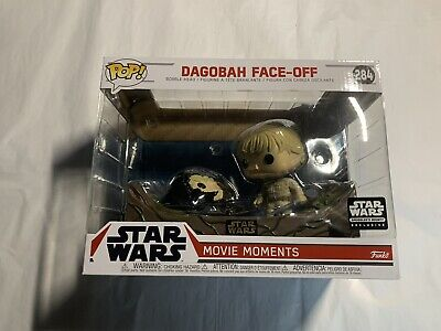 Star Wars Funko POP #284 Dagobah Face Off Movie Moments Skywalker FREE SHIPPING