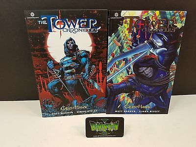 Tower Chronicles Vol 1 & 2 Geist Hawk NEW TPB Legendary Comic Bisley Wagner Tull