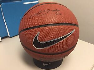 Lebron James Signed Basketball with COA