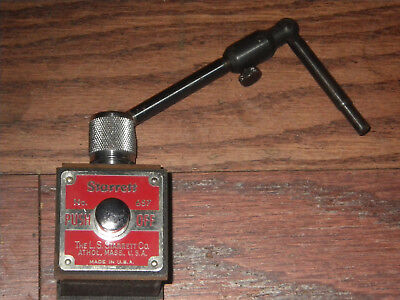 Starrett Co. No.657 Magnetic Base W657y