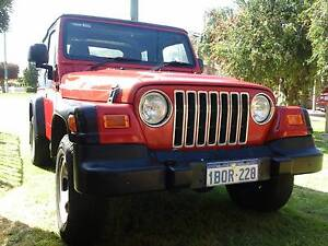 2004 Jeep Wrangler Convertible High Wycombe Kalamunda Area Preview