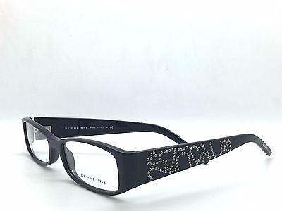 c182f0483069 Burberry Eyeglasses 2089 Black col.3001 New Prescription Frame with Case  52mm