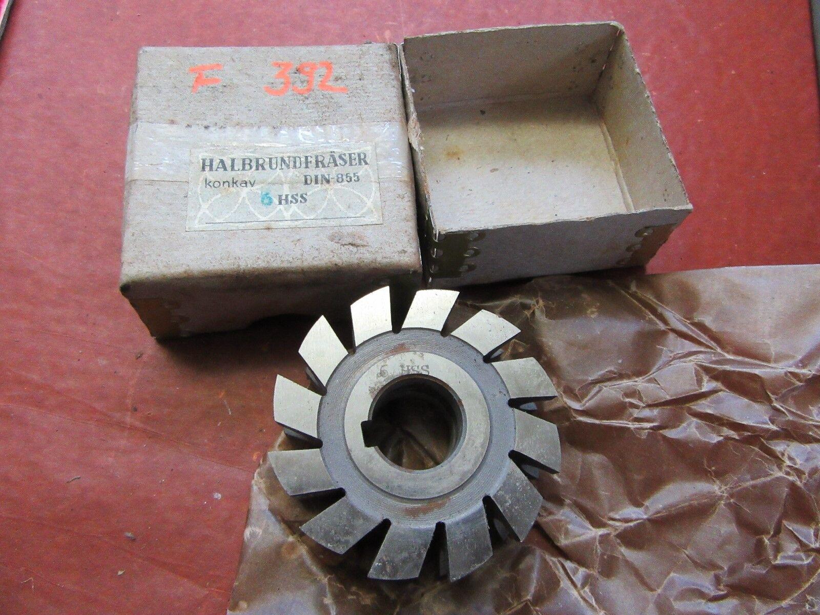 Halbkreisformfräser konvex  6HSS 70/24 Halbrundfräser Halbkreisfräser  #F392#