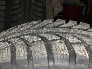 215/65/R16 Winter Tires/Rims- Like New