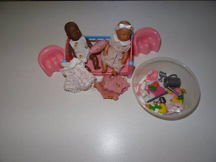 Baby born miniature dolls