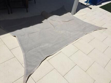 Shade sail and various accessories