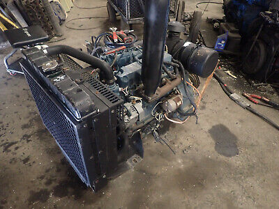 Kubota V2003-m-eu32 Diesel Engine Runs Exc. Power Unit Video Pto Clutch