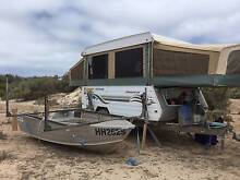 2001 Jayco outback dove camper trailer with boat loader West Perth Perth City Preview