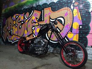 Bad ass custom chopper