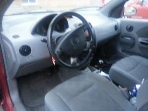 2005 Chevrolet Aveo Hatchback