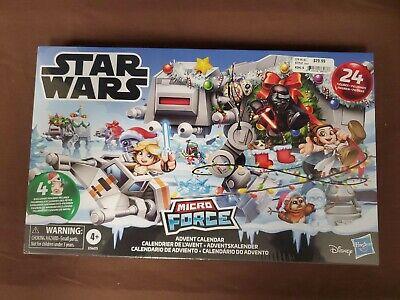 NEW Star Wars: The Rise of Skywalker Micro Force Advent Calendar Disney Hasbro