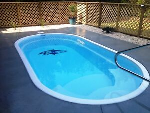 Fiberglass swimming pool ebay inground fiberglass swimming pools 9x17x46 solutioingenieria Image collections