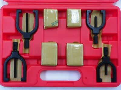 Spi 91-503-3 8 Piece V-block Set 2 Sizes With Clamps And Case E996